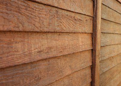 cierro imitación madera