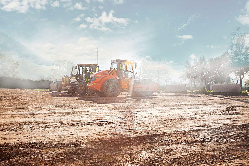 fotografia maquinas de construcción